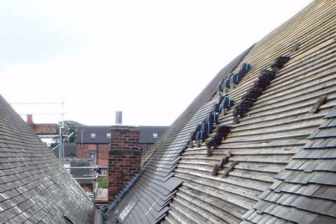 Traditional Roof, Sandbach