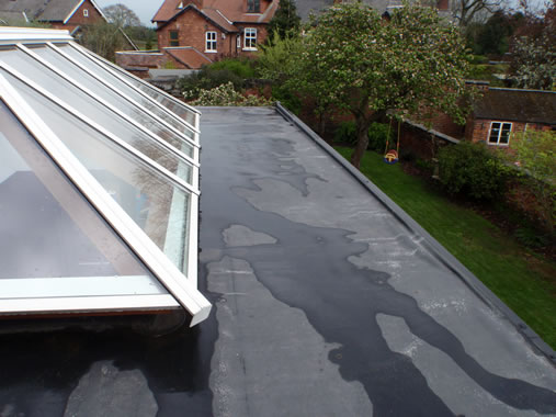 Rubber Flat Roof, Sandbach
